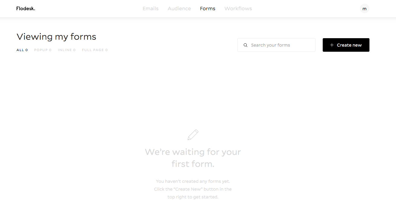 Create a Form in Flodesk